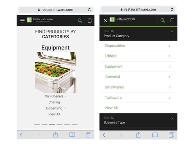 Restaurantware mobile
