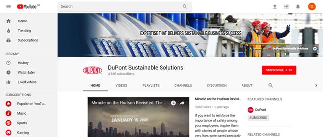 DuPont YouTube