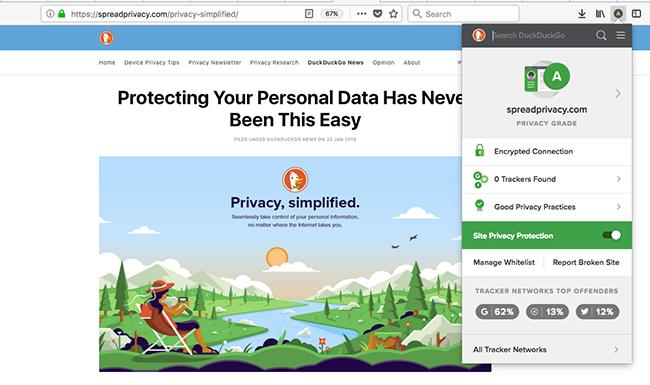 privacy grade.