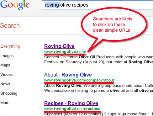 Olive search on Google.