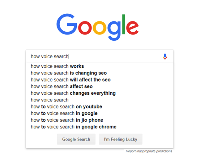 Google autocomplete2.
