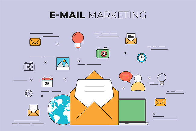 Email marketing for events.