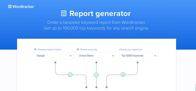 Top Keywords Report.