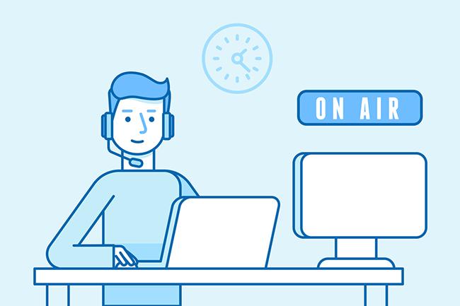 Podcasting for linkbuilding.