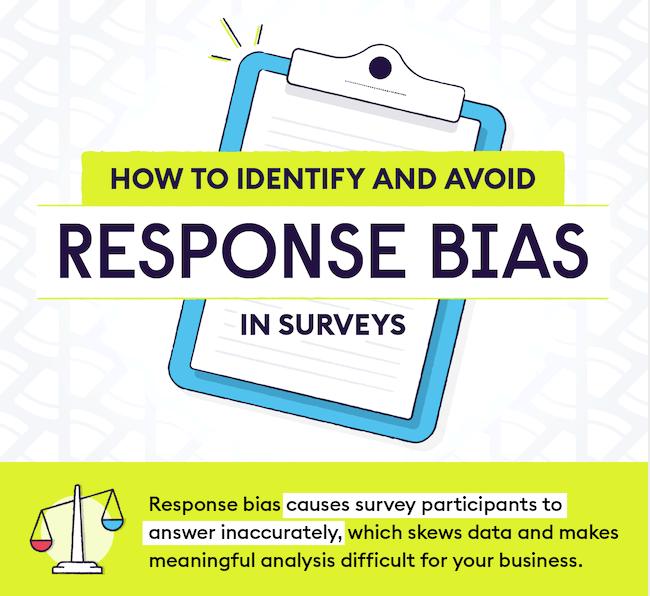 Reponse bias.