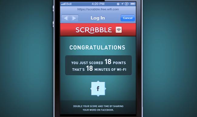 Scrabble for Wifi.
