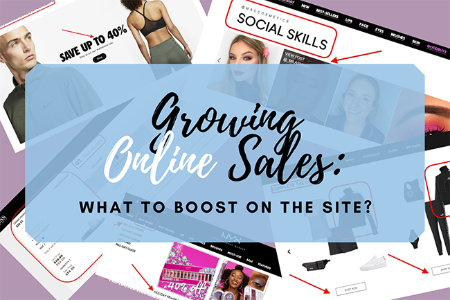 Growing Online Sales.