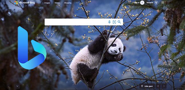 Bing search.