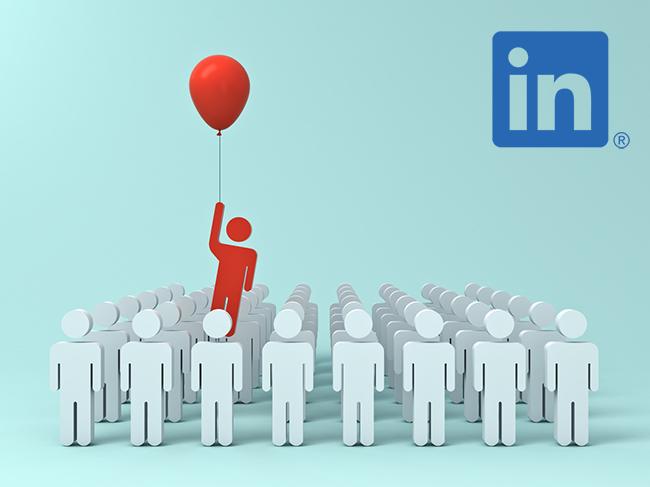 LinkedIn profile features.