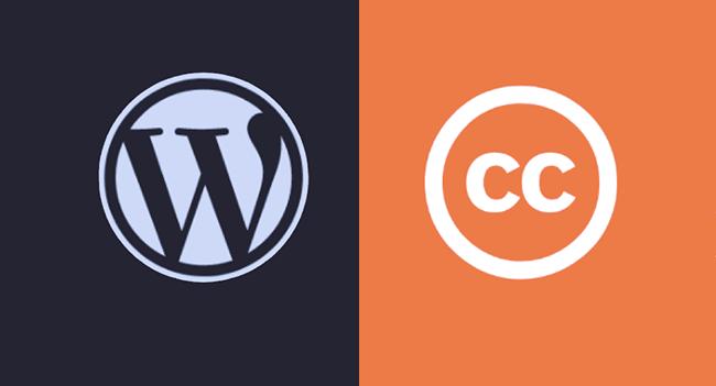 WordPress CC Search.