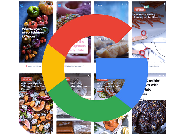 Google Web Stories.