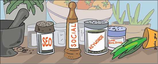 3 core ingredients to social and SEO