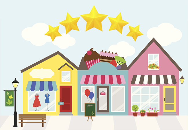 Reviews for local SEO.