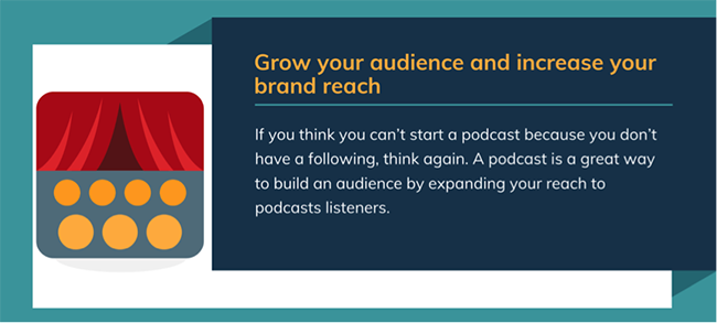 Grow your audience.