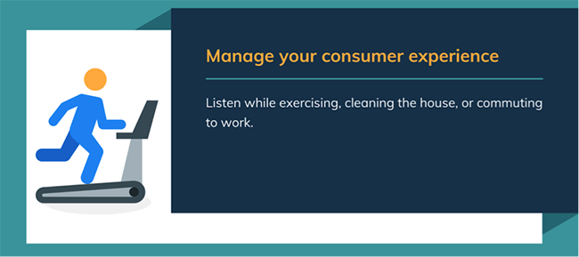 Consumer experience.