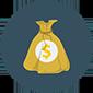 Thumb money sack