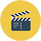 Thumb cinema clapper movie video