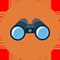 Thumb binoculars