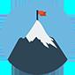 Thumb mountain peak