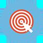 Thumb bullseye target