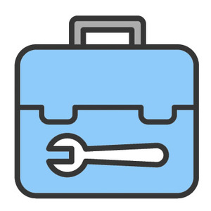 Thumb maintenance tool box